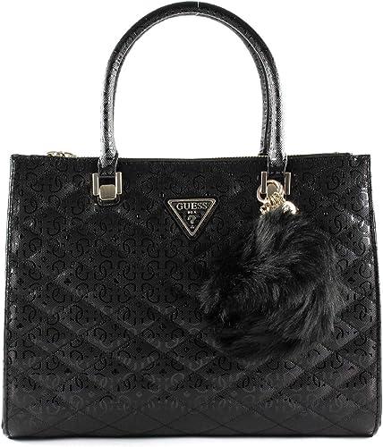 sac guess noir status satchel