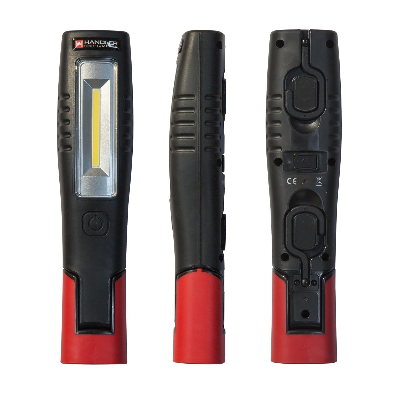 Handler Akku-Arbeitsleuchte HLM 7 4+3W LED, Magnet- u. Hakenaufhängung