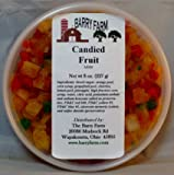 Candied Mixed Fruit, Diced, 8 oz.
