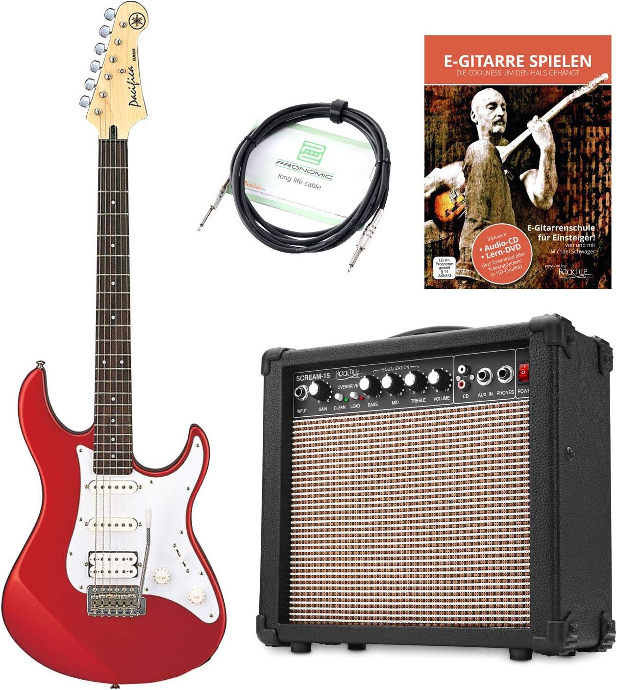 Yamaha Pacifica 012 RM – Guitarra eléctrica (Incluye amplificador ...