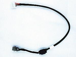 New AC DC Power Jack Plug Socket Cable Harness for Toshiba Satellite L650 L650D L655 L655D DD0BL6TH000