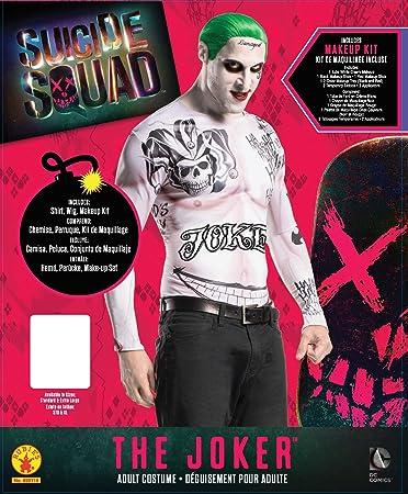 Rubies s – Disfraz de oficial suicidio Squad Joker adultos Kit ...