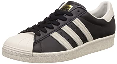 adidas Originals Men's Superstar 80S Cblack,