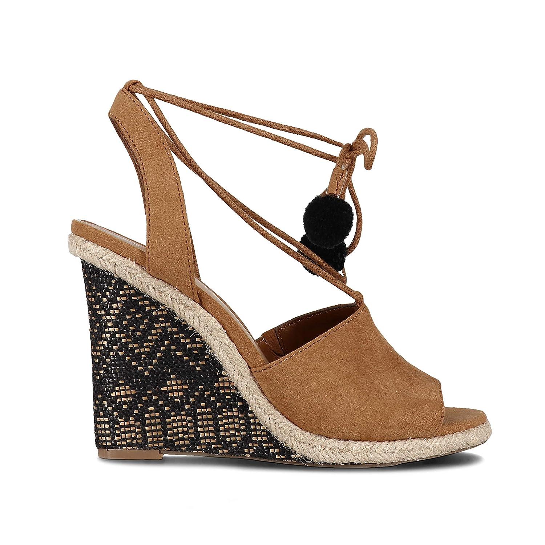 - INDIGO RD. Women's Harpy-A Sandals in Honey