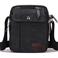 a46e1e9204 Supa Moden Man Bag Shoulder Bag Canvas Messenger Bag Retro Crossbody Bag  Sports Satchel Bag Small