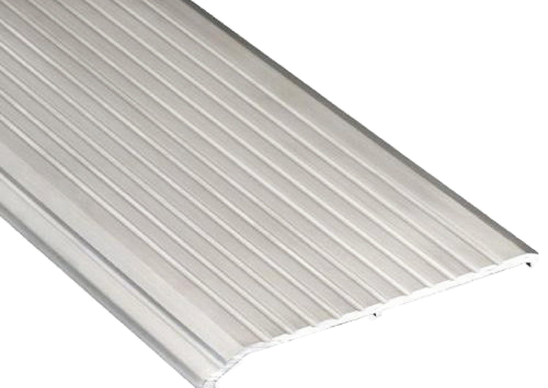 36 Length Pemko 085601 2548A36 Saddle Threshold Aluminum 8 Width Mill Finish Aluminum