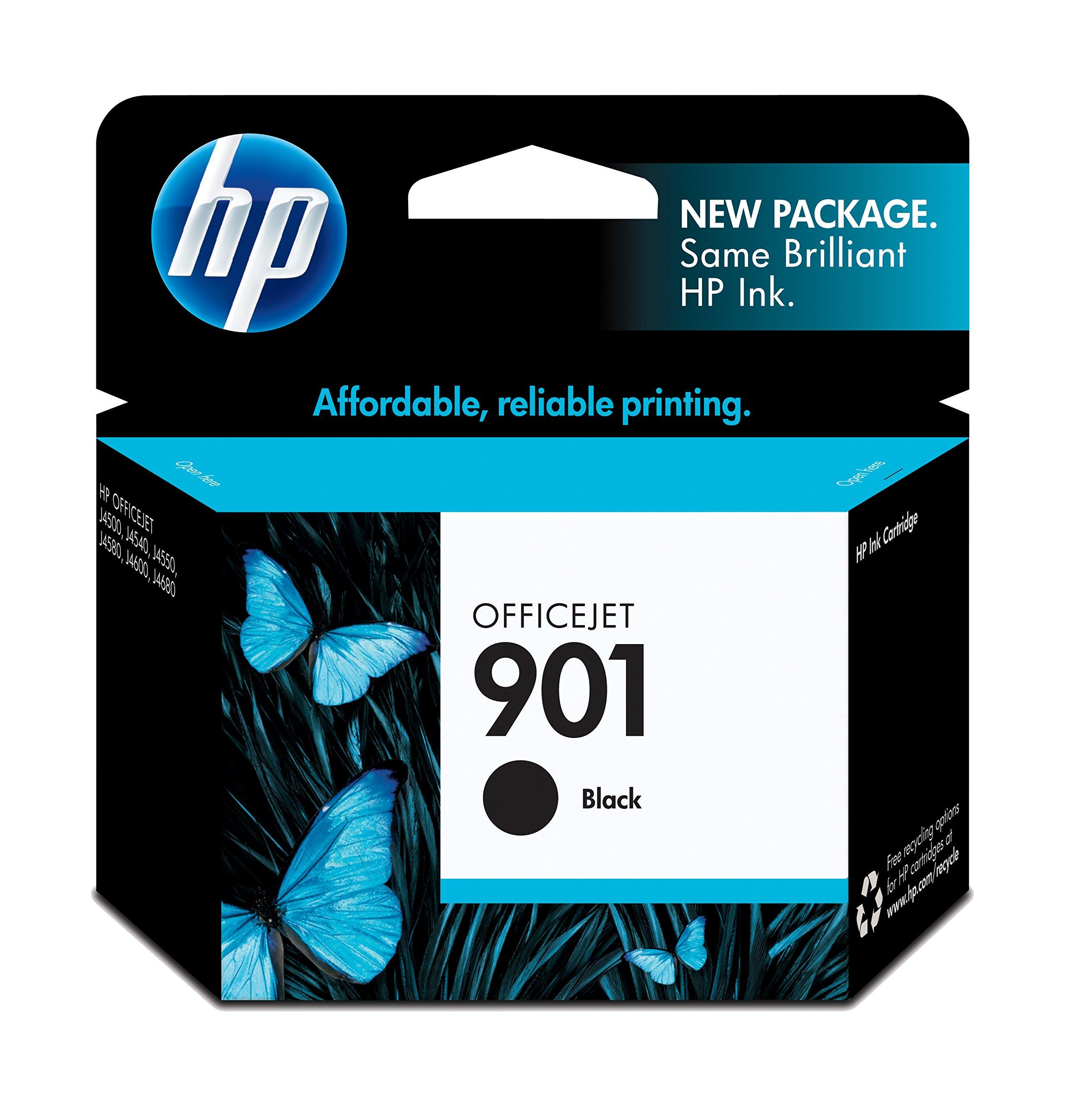HP 901 Black Original Ink Cartridge (CC653AN) for HP Officejet 4500 J4540 J4550 J4580 J4680