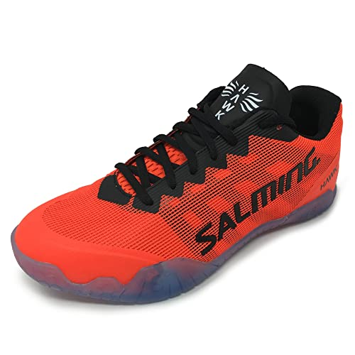 98b59187 Salming Hawk Shoe Men (26cm/UK7/US8, Black/Red): Amazon.in: Shoes & Handbags
