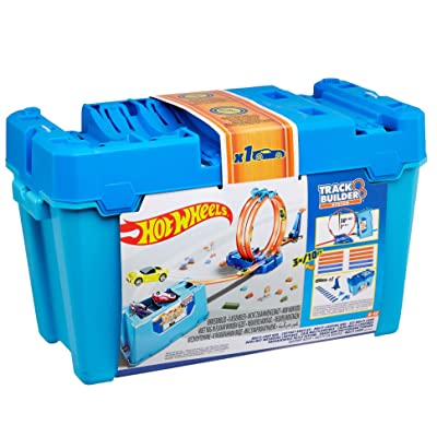 Hot Wheels Track Builder Multi-Loop Box: Toys & Games