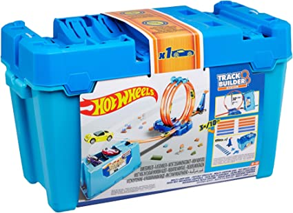Amazon.com: Hot Wheels Track Builder MULTI LOOP BOX: Toys & Games