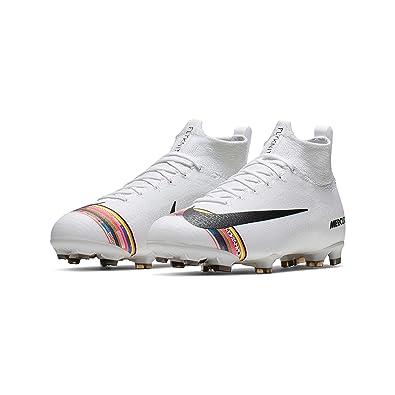 new arrival fae7c 973ff Nike Jr Superfly 6 Elite FG, Chaussures de Futsal Mixte Adulte, Multicolore  (White