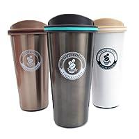 Edelstahl Kaffeebecher to go | 500ml | Thermobecher | Isolierbecher BPA Frei