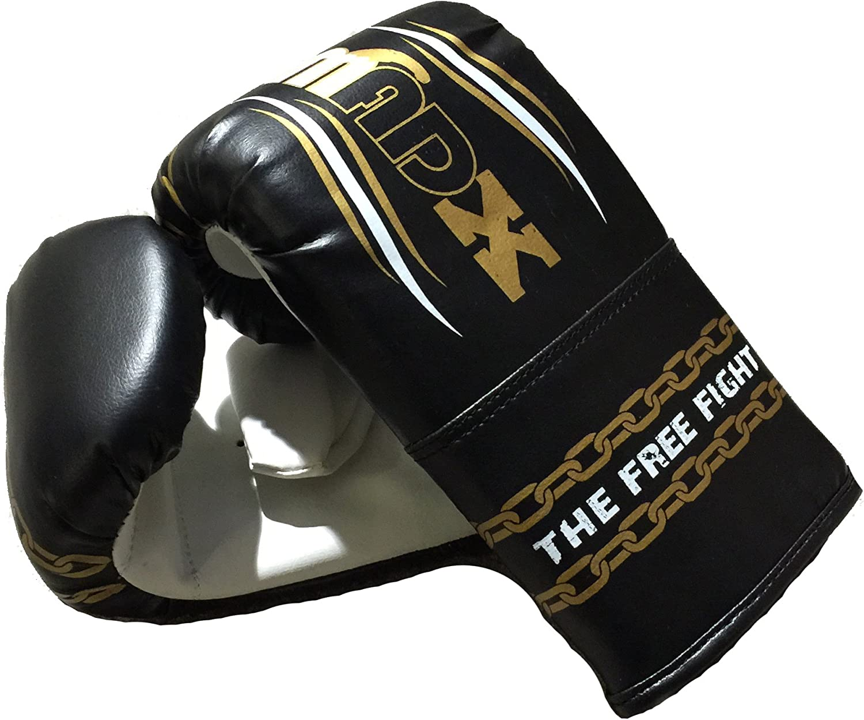 gants cha/îne et support MADX Kit de boxe 3 pi/èces avec sac de frappe rempli 1,2/m
