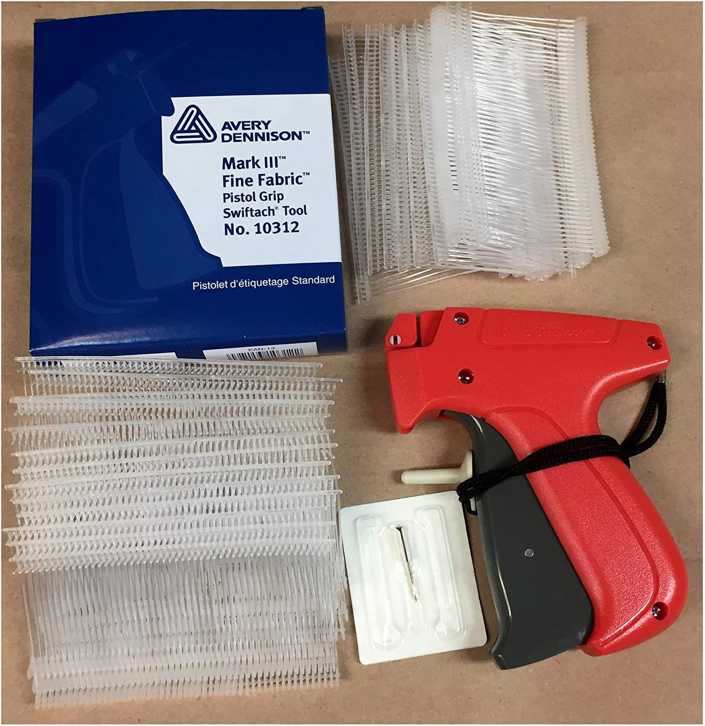 TAGGING NEEDLES FOR FINE FABRIC TAGGING GUNS 4 PACK