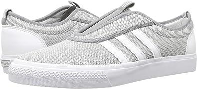 272c299199db9a adidas Skateboarding Men s Adi-Ease Kung-Fu Charcoal Solid Grey Footwear  White