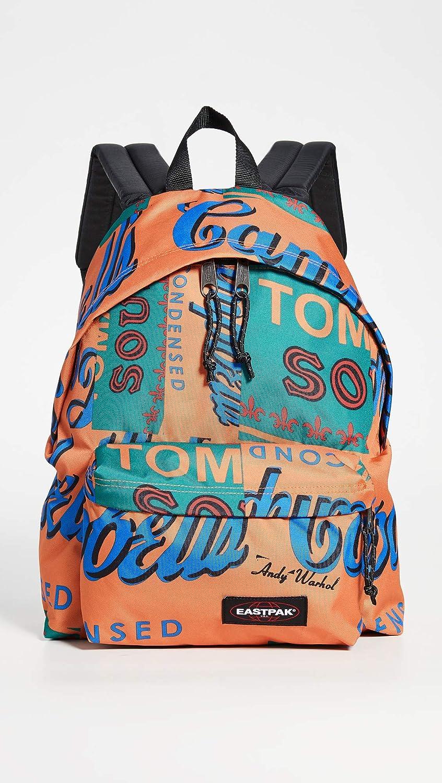 Backpack EASTPAK 2018 SMEMO LTD EDITION pinnacle orange in cordura waterproofing