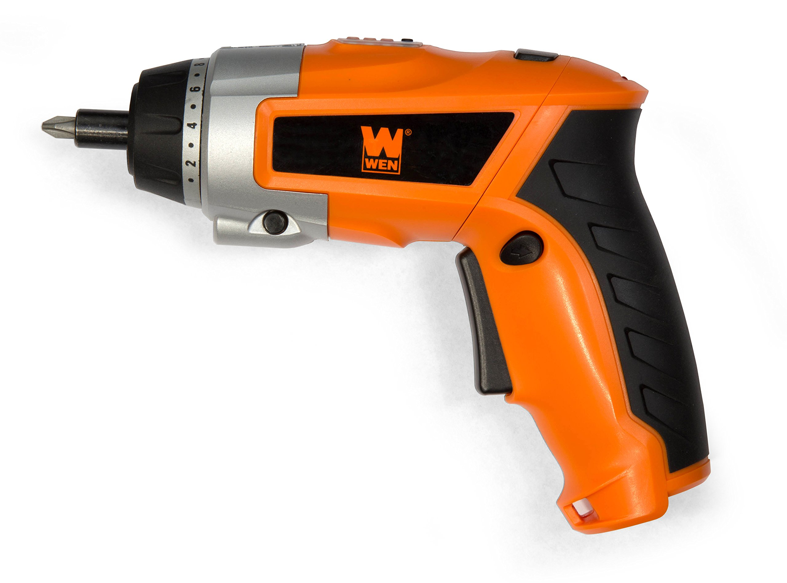 WEN 49036 3.6V Lithium Ion Cordless Rechargeable Screwdriver with Pivoting Handle