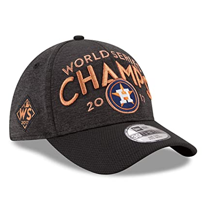 Image Unavailable. Image not available for. Color  New Era Houston Astros  2017 World Series Champions Locker Room 39THIRTY Flex Hat Graphite 08835d0b8f0c