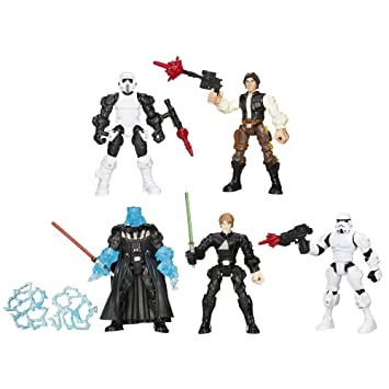 Star Wars Hero Mashers Return of the Jedi Action Figures Set by Hasbro