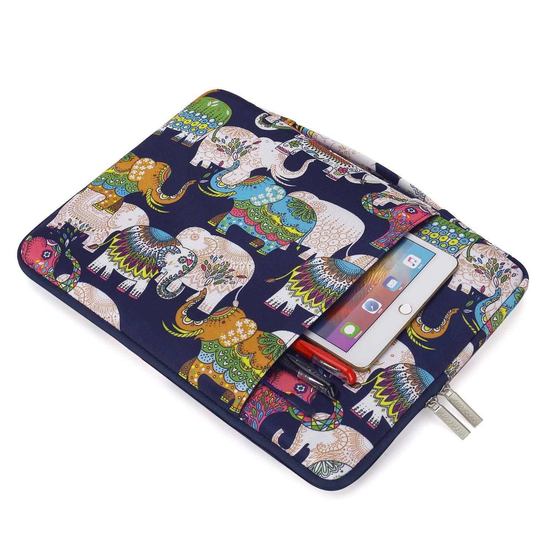 MOSISO Malet/ín Compatible con 13-13,3 Pulgadas MacBook Air//MacBook Pro Retina//2018 Surface Laptop 2//Surface Book 2 Poli/éster Funda Blanda Protectora Multifuncional Bolso Amarillo
