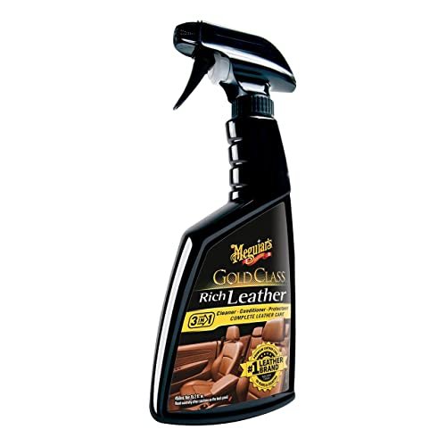 Meguiars G10916 Gold Class Rich Leather Cleaner Conditioner