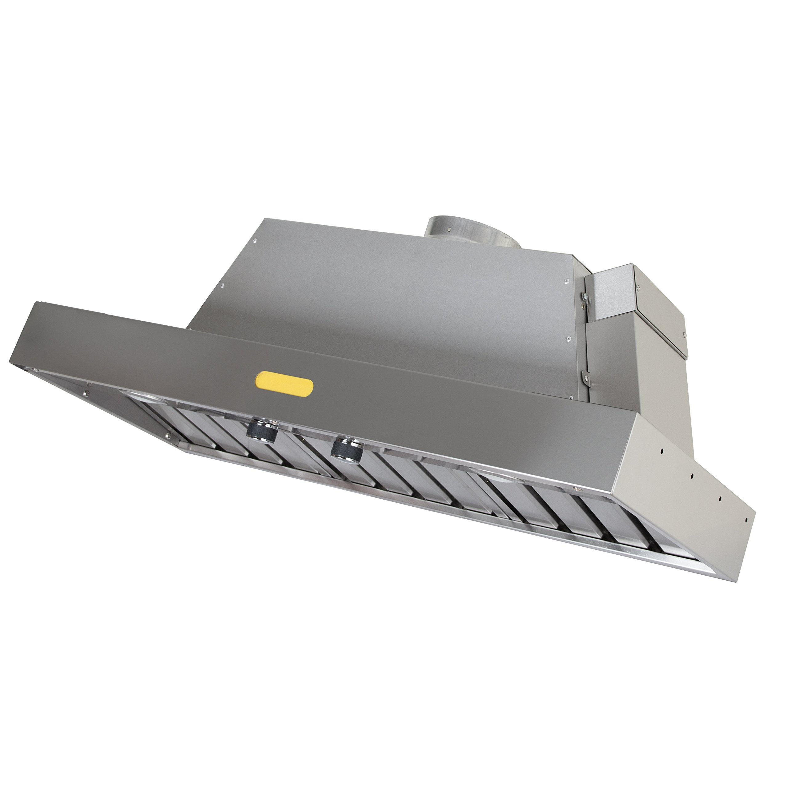 Foremost FRHI-42M Professional Series Range Hood Insert, Brushed Stainless Steel