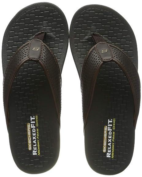 Skechers Pelem-Emiro, Infradito Uomo: Amazon.it: Scarpe e borse