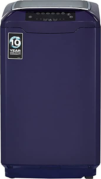 Godrej 6.5 kg Fully-Automatic Top Loading Washing Machine (WT EON Allure 650 PANMP, Indigo Blue) Washing Machines & Dryers at amazon