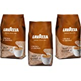 Lavazza Crema Aroma Coffee Beans 1Kg (Pack of 3)