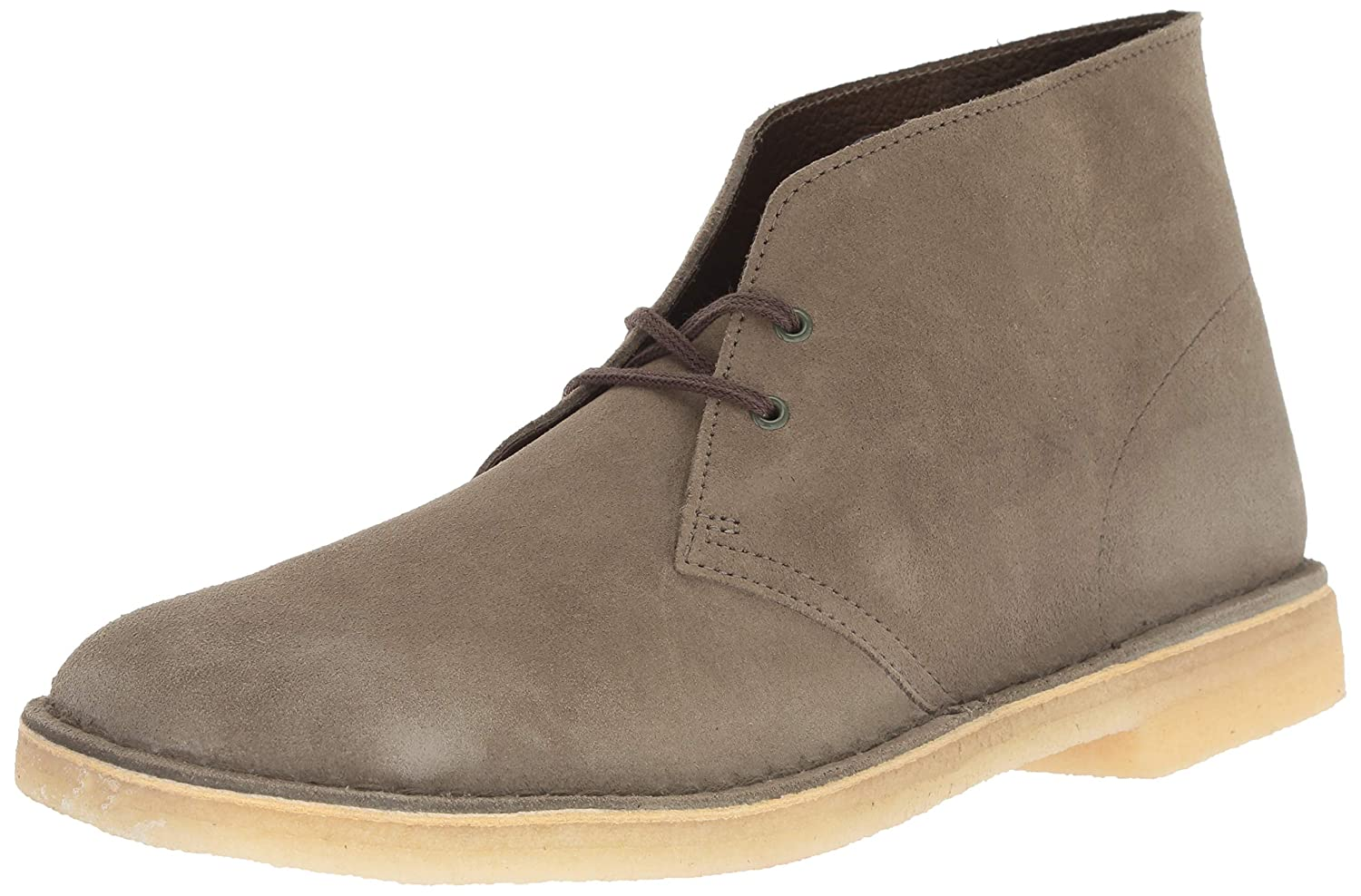 Amazon.com | CLARKS Men's Desert Chukka Boot, Olive Suede, 080 M US | Chukka