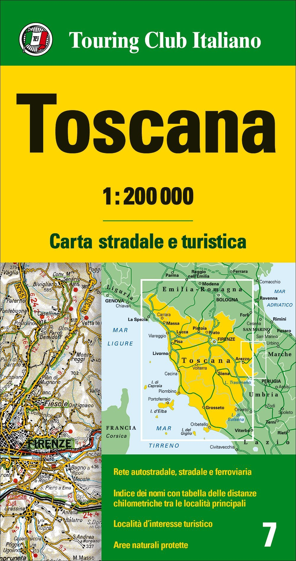Cartina Stradale Toscana Umbria.Amazon It Toscana 1 200 000 Carta Stradale E Turistica Lingua Inglese Aa Vv Libri In Altre Lingue