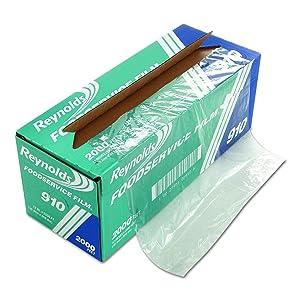 "Reynolds 910 2000' Length x 12"" Width, PVC Food Wrap Film"