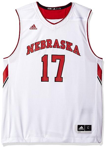 adidas Men's Replica Basketball Jersey, White, Large