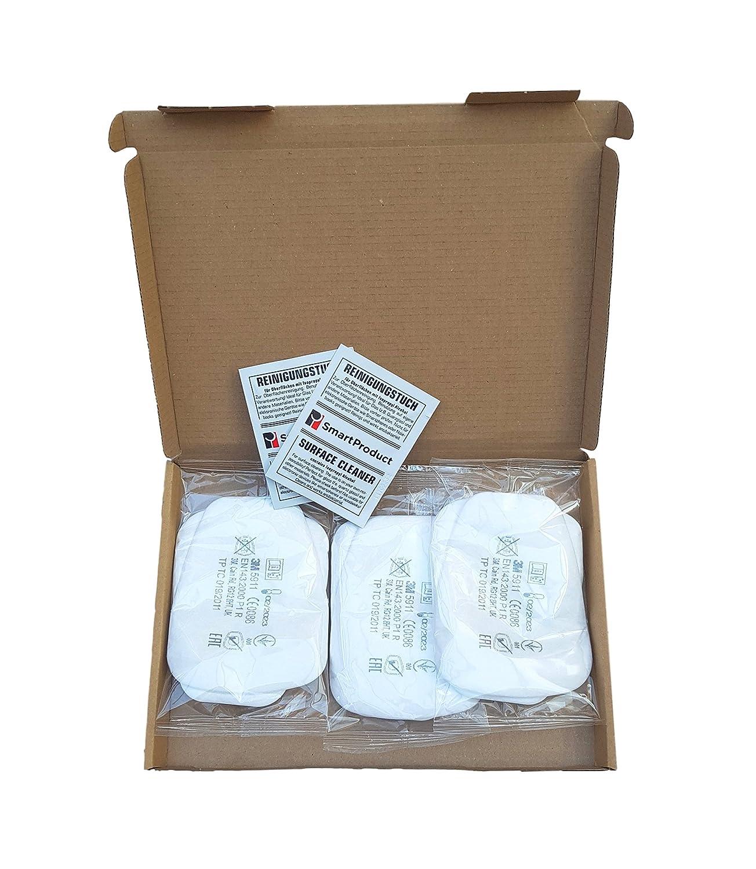 3M Filtro 5911 antiparticolato P1R 1 paio 2 pezzi Tamponi alcool 1 pezzo SmartProduct