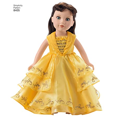 Simplicity 8405 Muster Disney Die Schöne und Das Biest Kostüm für ...
