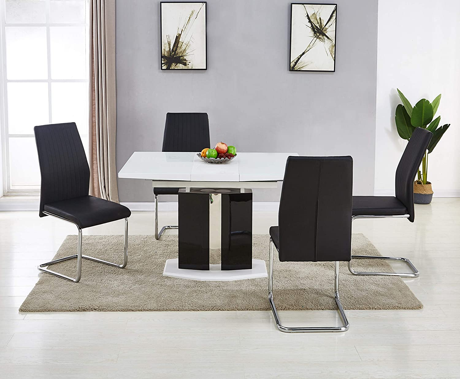 Best Picture Extending Kitchen Table And Chair Sets