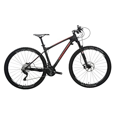 side facing steppenwolf tundra pro hardtail mountian bike
