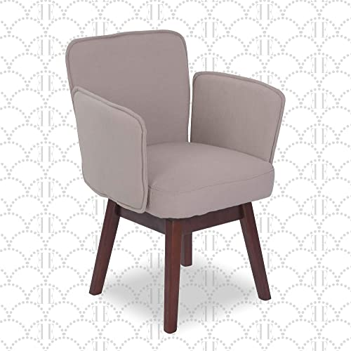 Elle Decor Esme Upholstered Home Office Desk Chair