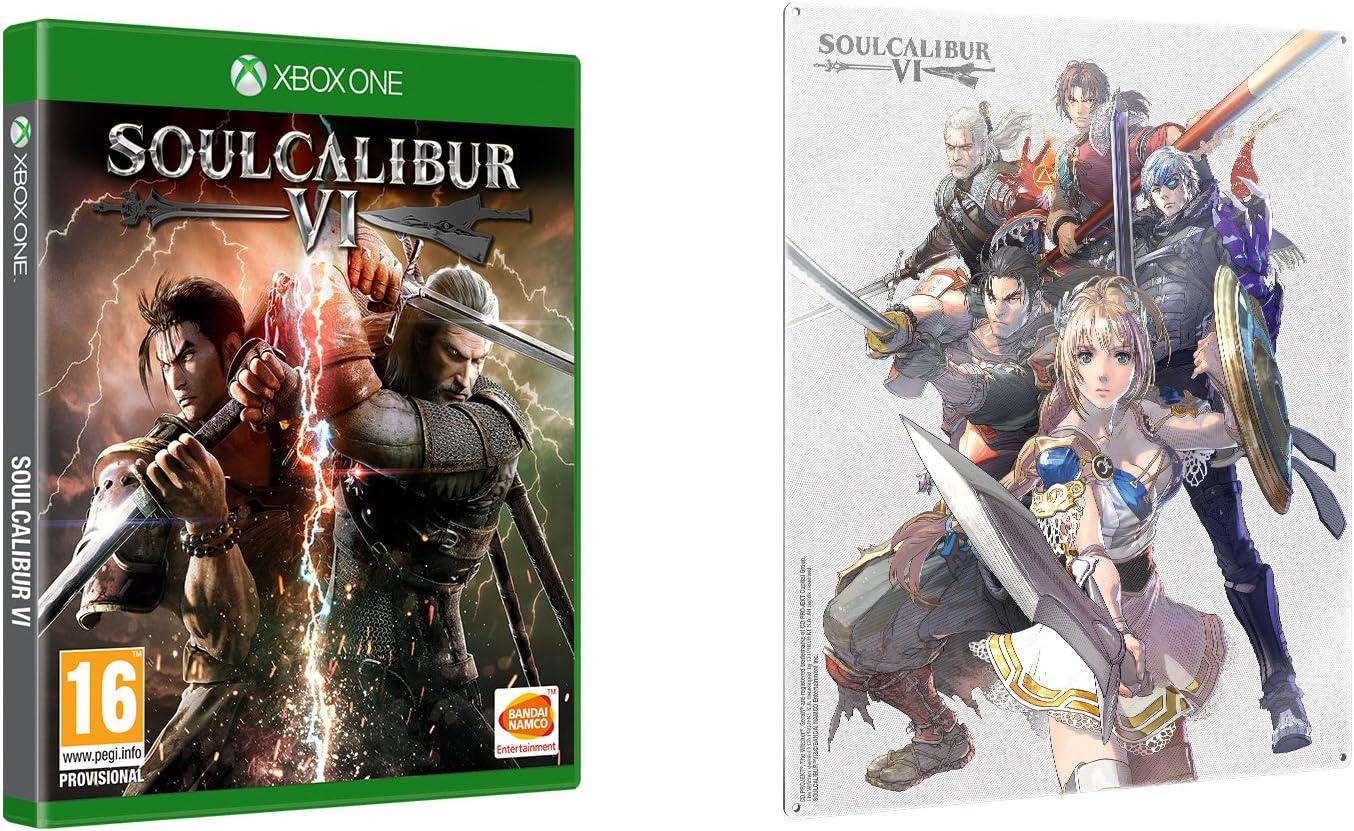 Soulcalibur VI + Metal Plate - Bundle Limited - Xbox One [Importación italiana]: Amazon.es: Videojuegos