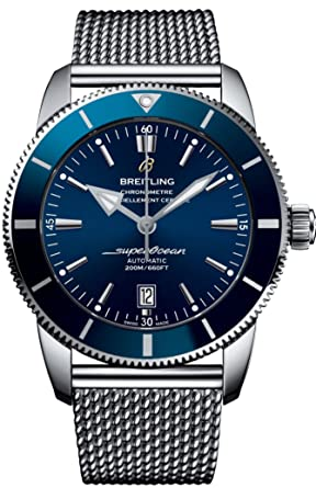 faa3691dc5e Image Unavailable. Image not available for. Color  Breitling Superocean  Heritage II ...