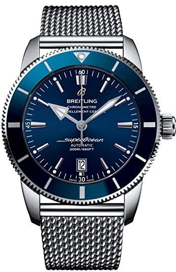 Breitling Superocean patrimonio II 46 Mens Reloj ab202016: Superocean: Amazon.es: Relojes