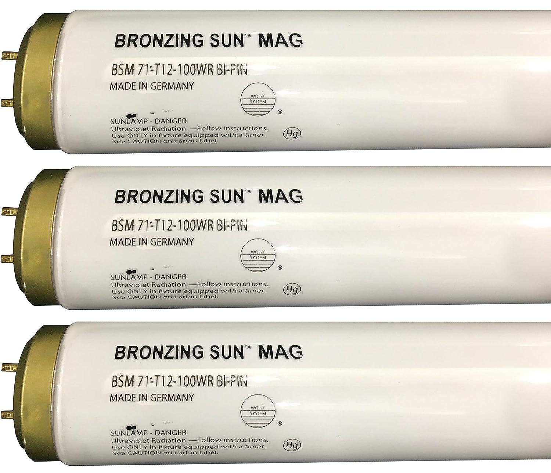Wolff Bronzing Sun Magnum fr71 Ho 100 W BiピンReflector Tanningランプ T12 27248 B072DV3ZW4  6