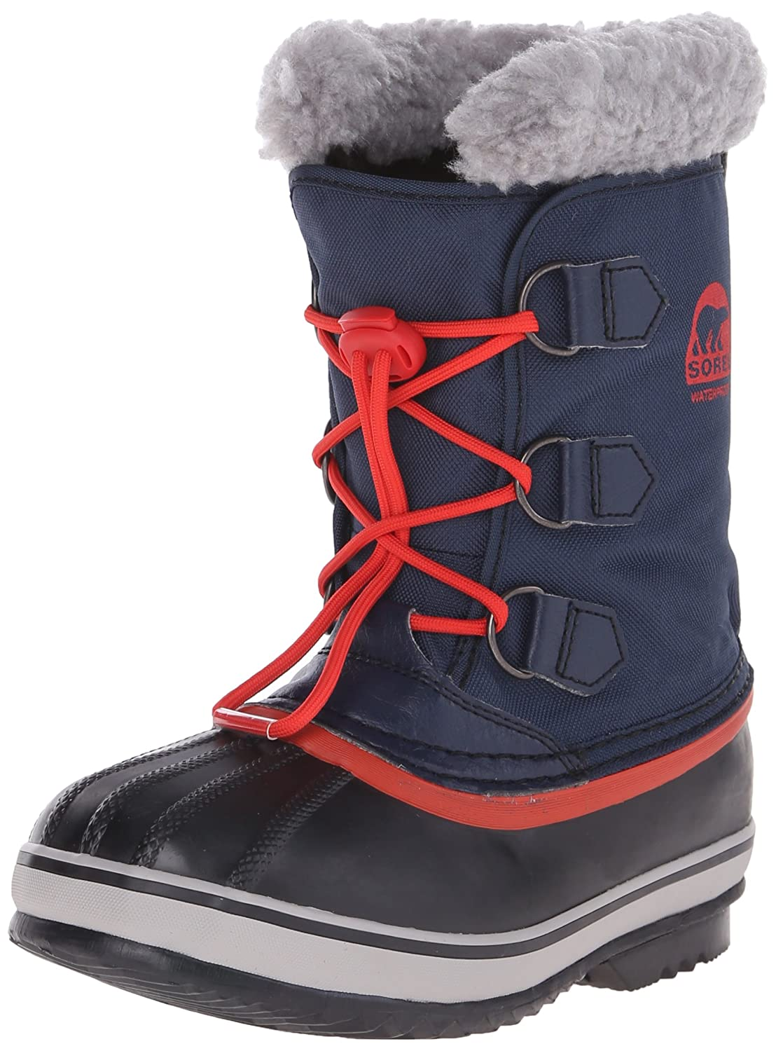 Sorel Yoot Pac Nylon Cold Weather Boot (Toddler/Little Kid/Big Kid) YOOT PAC NYLON-Black - K