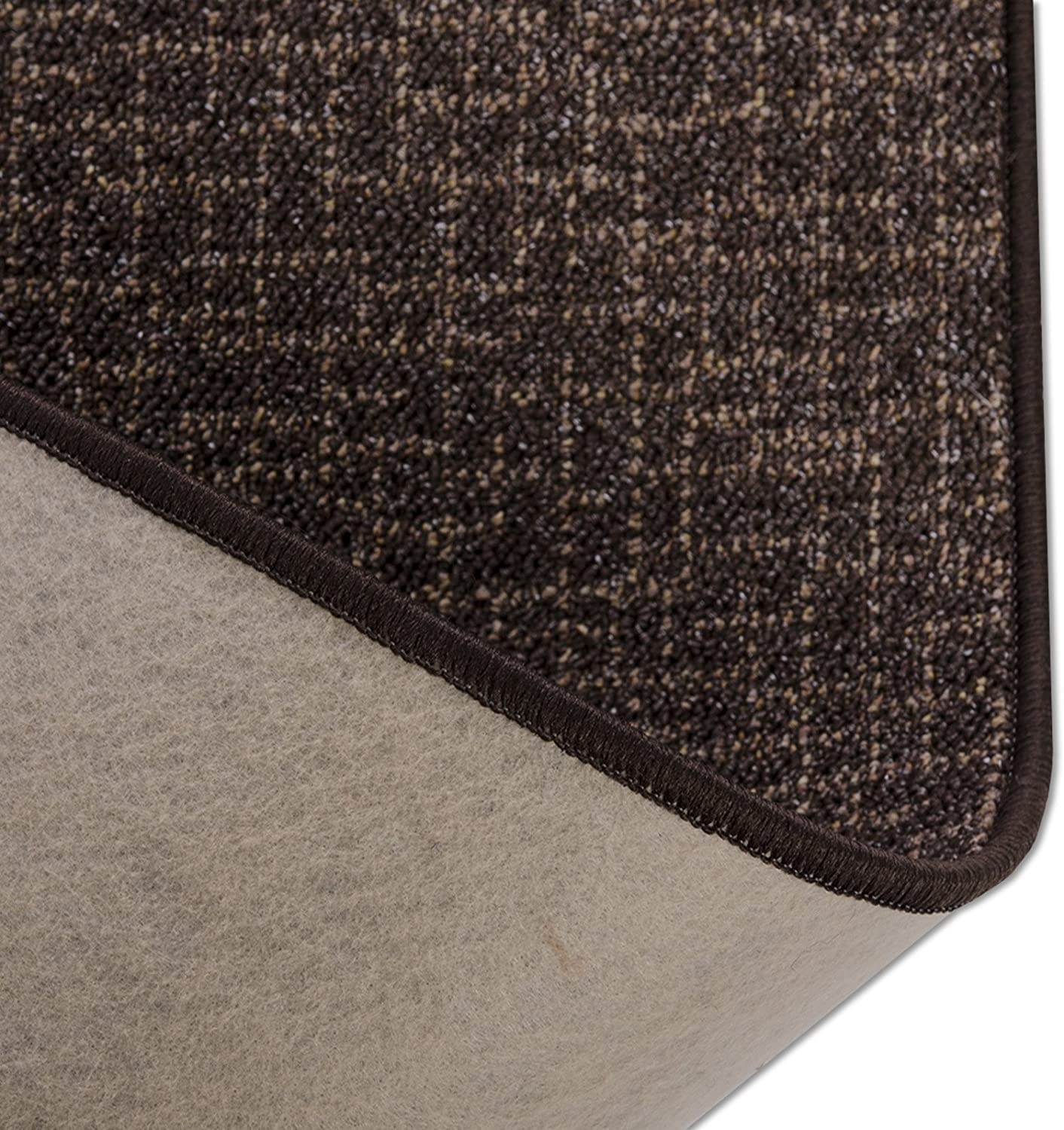 / Chocolate Tough and Durable chocolate 110 x 100 cm / 110/ cm Wide Per Metre/  Carpet Runner Bermuda Rug/