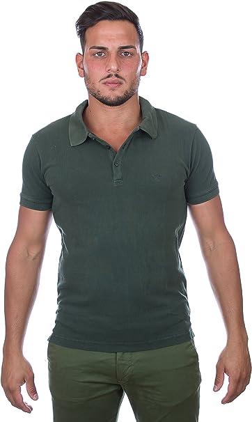 Armani - Polo - Básico - Cuello ala - para Hombre Verde Verde ...