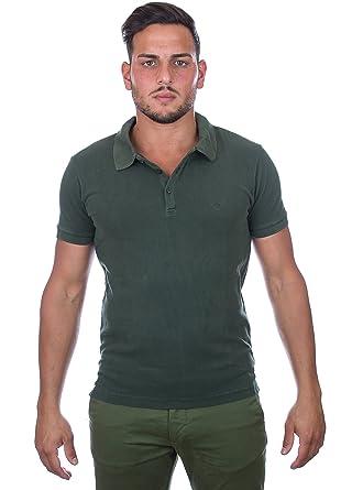Emporio Armani Mens Green Polo Shirt Small: Emporio Armani: Amazon ...