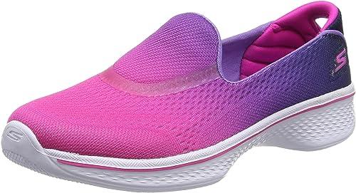 Skechers Girls' Go Walk 4-Sporty Starz
