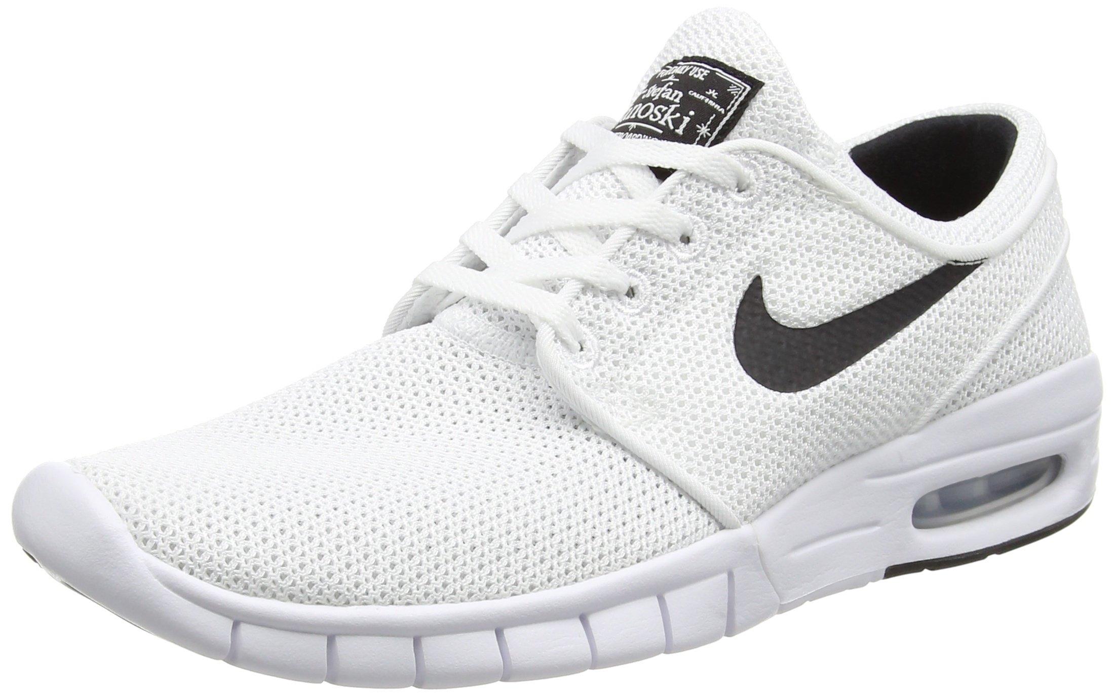 White Janoskis Nike Stefan Janoski Max Prm Kuning Sb Mens Shoes