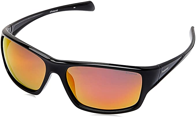 790733dda1e6f Polaroid Sunglasses Men s Pld7016s Polarized Rectangular Sunglasses BLACK  61 mm