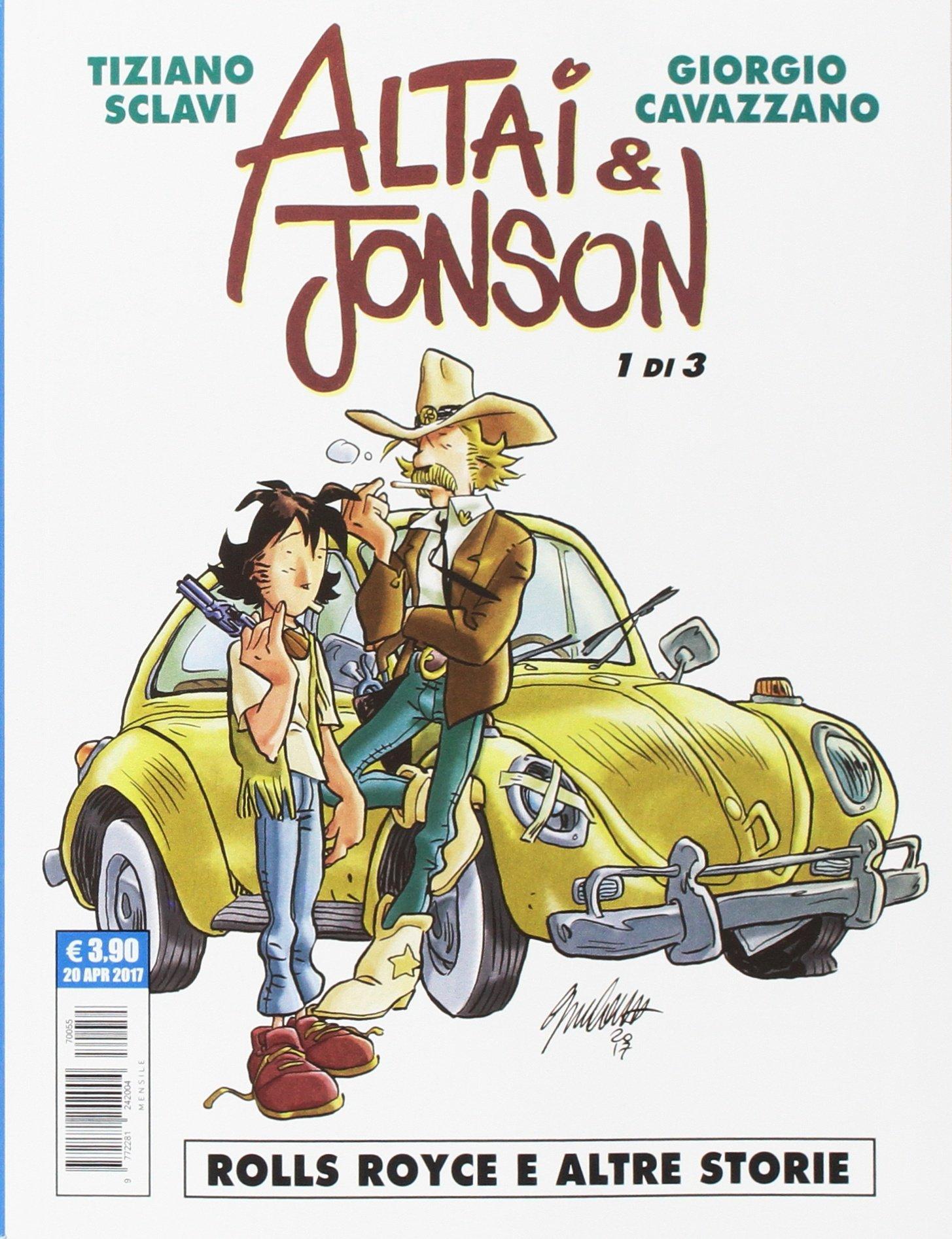 Altai & Jonson. Rolls Royce e altre storie (Vol. 1): Amazon.it: Sclavi,  Tiziano, Cavazzano, Giorgio: Libri